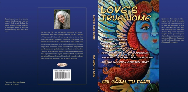 Hrad cover dust jacket for 'Love's True Home'